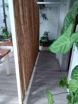 Biombos de guadua,bambu