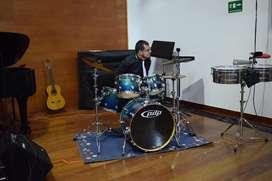 Clases de Batería, percusión Colina