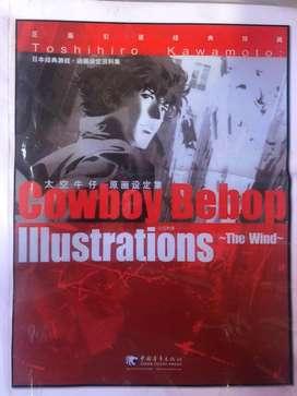 Libro ilustracion cowboy bebop