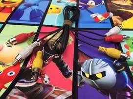 Cable de audio y video Rca