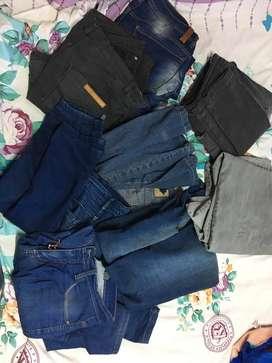 Jeans a reciclar