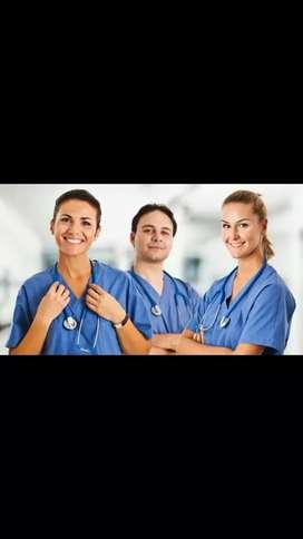 Personal medico y enfermeras para brigadas medicas