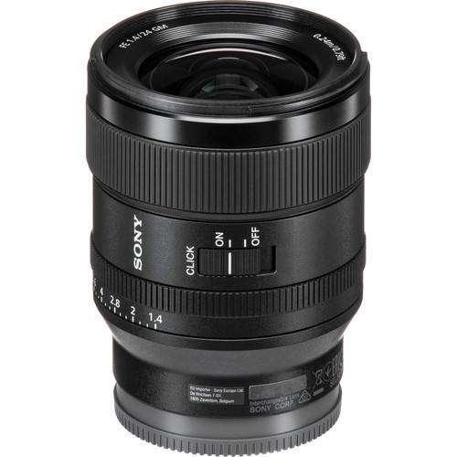 Lente Sony FE 24mm