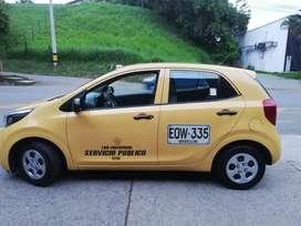 Taxi kia ion 2019 tax individual Medellin