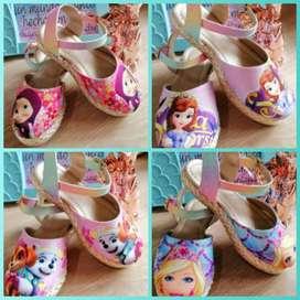 lindos calzado para niña