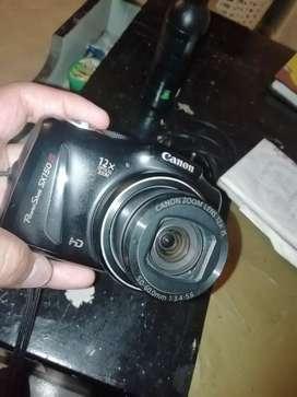 Cámara Canon digital semiprofecional