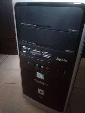 Computador Torre PC con 4GB Ram y Windows 10 PRO