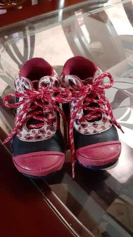 Zapatos para Niña Talla 21 22