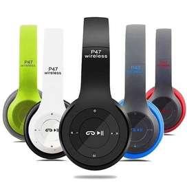 Audífonos inalámbricos bluetooth P47+5.0