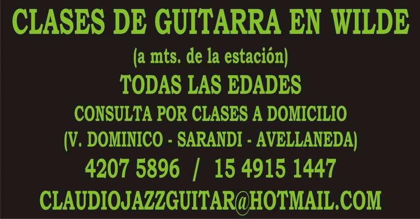 CLASES DE GUITARRA EN WILDE TODAS LAS EDADES Y NIVELES. 0