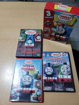 5 Dvd de Thomas Friends