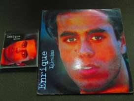 CD Y LP DE ENRIQUE IGLESIAS , 1995, DE COLECCION.
