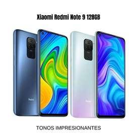 Xiaomi Redmi note 9 128 Gb Cuatro cámaras + Envió Gratis