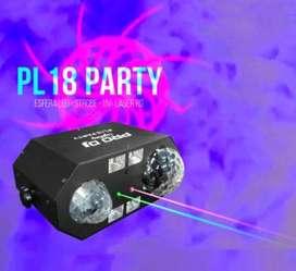 Luz Pro DJ pl18 party.
