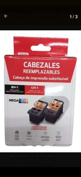 Cabezales Original Negro y Color Canon G2100 G3100 G4100