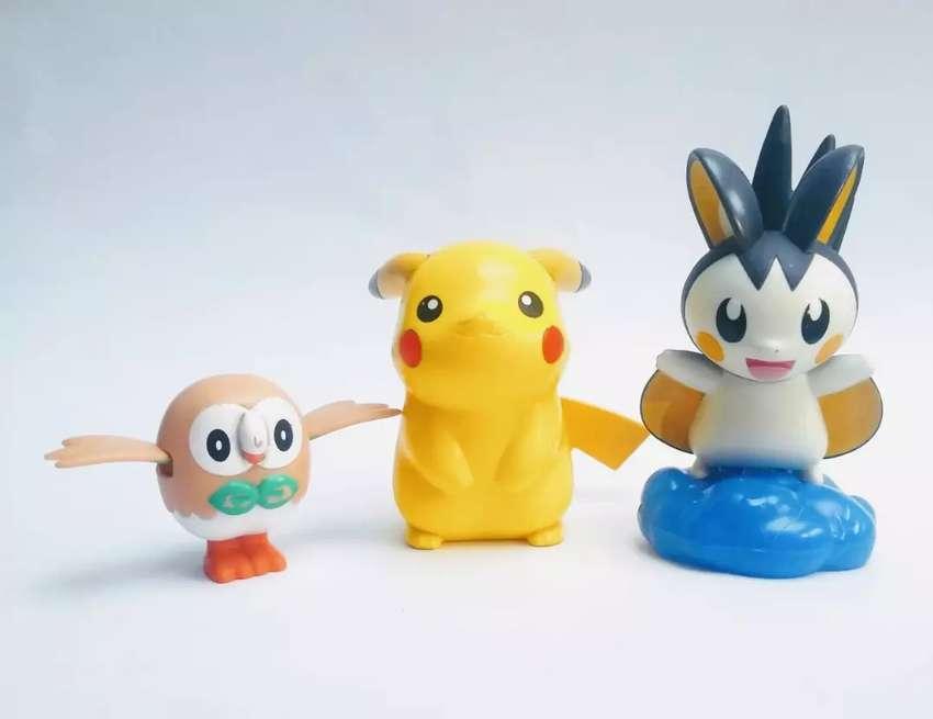 Figuras Pokémon mc donalds 0