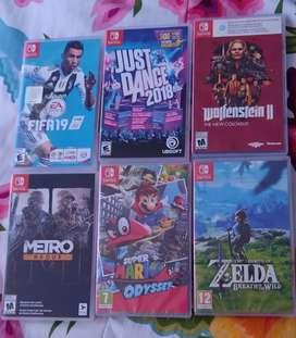 Videojuegos Originales Nintendo Switch Nuevos y Usados