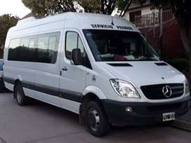 mercedes-benz 515 minibus 19+1