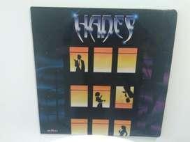 Album Lp Hades Vinilo 1992 firmado Rock Colombiano