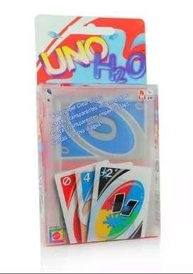 Cartas Uno H2o Juego De Mesa 100 Original Mattel