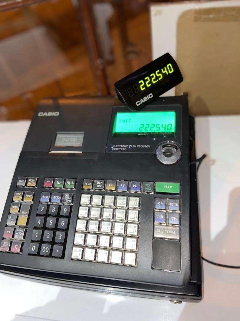Caja registradora Casio Pcr-t470 0