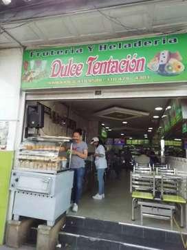 Se vende frutería, excelente ubicación y buena rentabilidad.