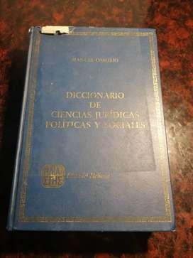 Diccionario de Ciencias Juridicas Politicas y Sociales