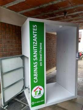 Cabinas sanitizantes