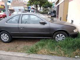 Se vende Automovil Nissan Como Chatarra