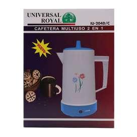 Cafetera 2 En 1 Marca Universal Royal Disponible para entrega Inmediata Envío Gratis