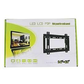 Soporte Tv Pared Base Led Lcd Smart 14 Hasta 42 PuLG 25kg