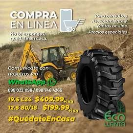 LANTAS ARMOUR Llantas 19,5L24 14PR / 12.5/80R18