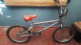 Bicicleta cromada,rodado 20