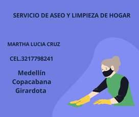 SERVICIO DE ASEO DE HOGAR