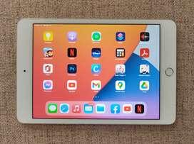 Oferta Tablet, Ipad Mini 4, 128gb, excelente estado, puedes usar tu cuenta ICloud, ultima versión de IOS: 14.4.2