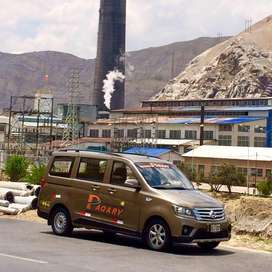 Traslados al aeropuerto de Jauja y personal de Instituciones Públicas y Privadas a toda la Región
