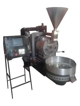 Maquina tostadora de cafe 15 kilos semiautomatica
