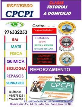 MATEMATICAS A DOMICILIO PARA CPCPI Y CEPRU