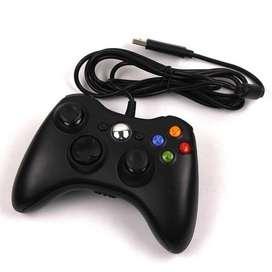 Control Juego Xbox 360 Alámbrico Puerto Usb Pc Y Xbox