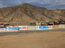 MANCHAY ALQUILO TERRENO 6000 m2 - 14,000 m2