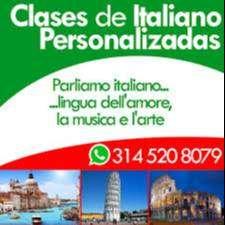 Clases de ITALIANO Personalizadas en PALMIRA