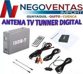 ANTENA DE TV TUNNER DIGITAL PARA CARROS
