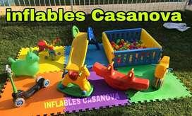 Se alquila inflable metegol pool gazebos plaza blanda y más si su consulta no es molestia.