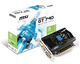 Placa de video MSI GT 740 2gb gddr5