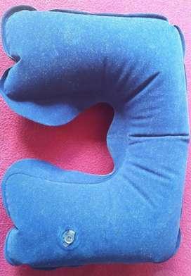 Almohada Inflable Cuello para Viaje.