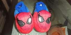 Babuchas Spiderman.
