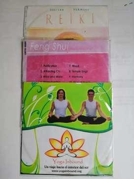 Vendo Cd de reiki, audiolibro y yoga