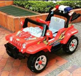 carro con batería para niño