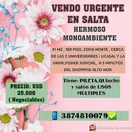VENDO URGENTE departamento CANCELADO
