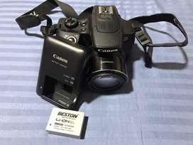 Vendo camara canon semi profesional sx60